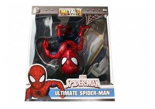 Figura Spiderman Metal Jada Marvel 13cm Jugueterialeon