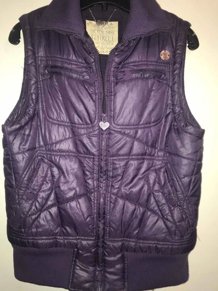Campera Chaleco 47 Street Inflable Y Polar