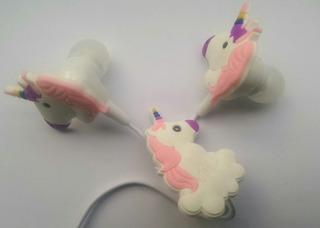Auriculares De Unicornio. Estuche Y Envio Gratis