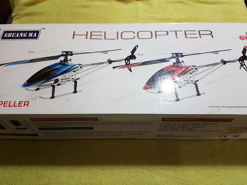 Oferta Helicoptero A Control Shuang Ma Double Horse 9104