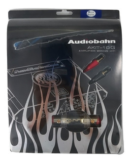 Kit De Instalacion Calibre 10 Accesorios Audiobahn Akit-10g
