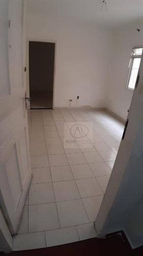 Apartamento Térreo Com 2 Dormitórios À Venda, 70 M² Por R$ 200.000 - Centro - São Vicente/sp Para Reformar!!! Faz A Sua Proposta - Ap10542