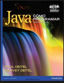 Libro Java Como Programar Novena Edicion