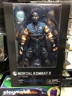 Sub Zero Mezco Mortal Kombat Nuevo 30cm - Asgard
