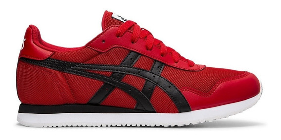 Asics Zapatillas Lifestyle Hombre Tiger Runner Rojo