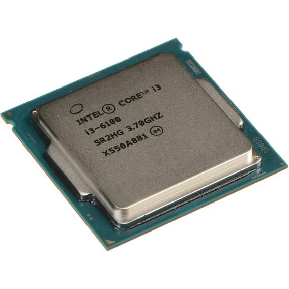 Core I3 6100 Lga Socket 1151 3.70ghz Oem Testado Fretegratis