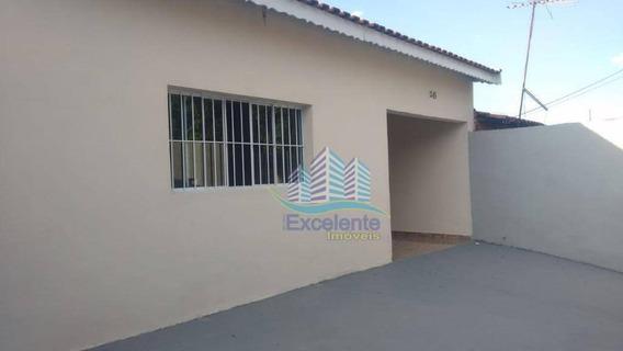 Casa Com 3 Dormitórios Para Alugar, 97 M² Por R$ 1.430,00/mês - Jardim Do Bosque - Hortolândia/sp - Ca0444