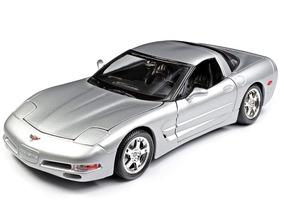 Chevrolet Corvette C5 Miniatura Burago 1:18 Frete Incluído