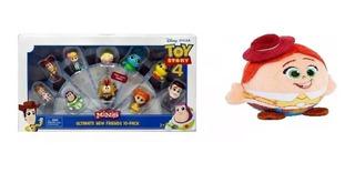 Toy Story 4 Disney Pixar Set De 10 Figuras Minis Mas Regalo