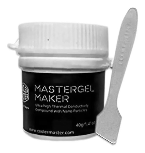 Pasta Termica Mastergel Maker Prata Silver 40g 11 W Mk K779