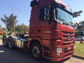 Mercedes-benz Actros 2446 6x4 Automático Ano 2012
