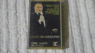 La Voz En La Argentina - Frank Sinatra - Cassette