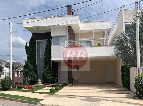 Casa Com 4 Suítes À Venda, 340 M² Por R$ 1.500.000 - Condomínio Ibiti Royal Park - Sorocaba/sp - Ca0434
