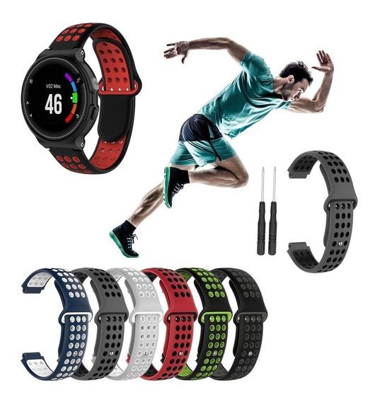Pulseira Silicone Garmin Forerunner 735 Estilo Nike Esportiv