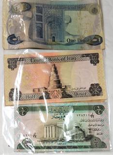 Cédulas/moedas- Iraque E/ou+ Internacional - Combo