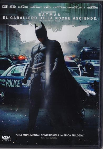 Batman El Caballero De La Noche Asciende Nolan Pelicula Dvd