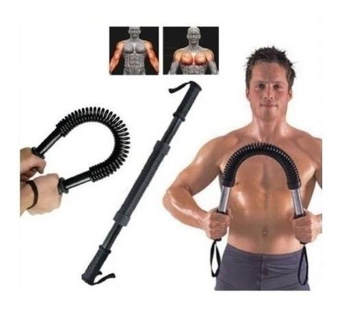 Imagen 1 de 7 de Barra Torsion 60 Kilos Ejercicios Brazo Fitness / Lhua Store