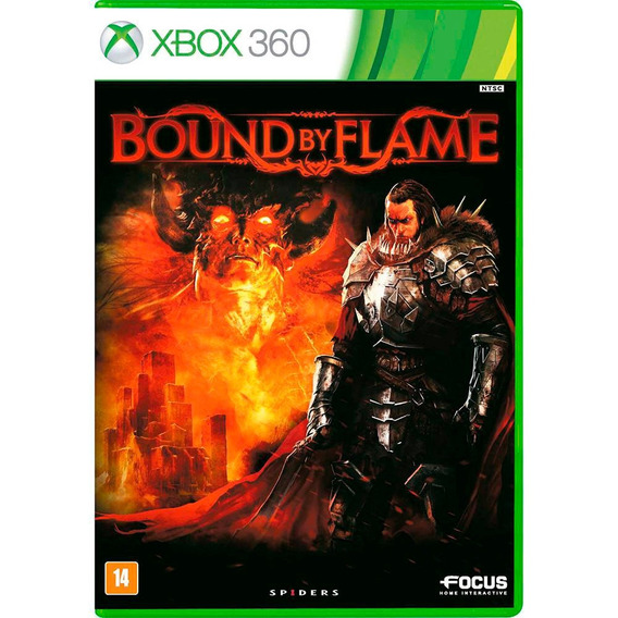 Game Xbox 360 Bound By Flame - Novo - Original - Lacrado