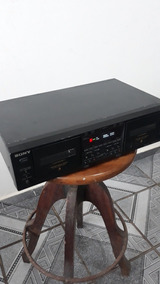 Deck Stereo Cassett Tc We675 Sony