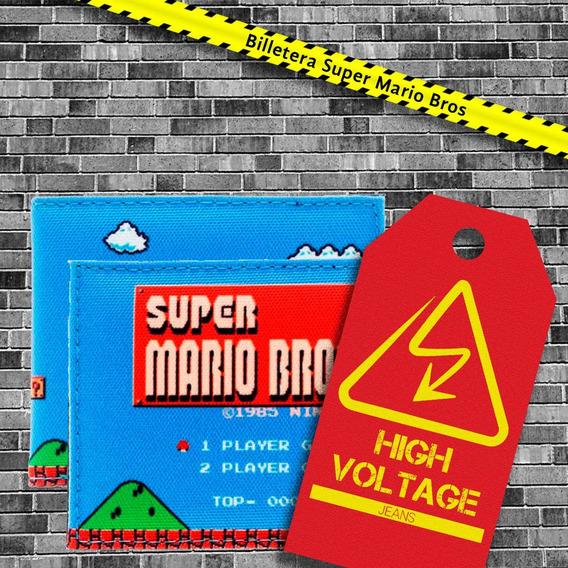 Billetera Super Mario Bros Retro Original