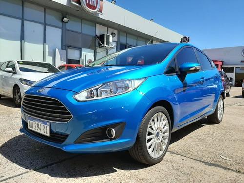 Ford Fiesta Se 2016 Azul