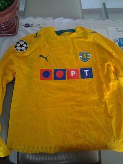Camisa Preparada Pra Jogo Sporting Lisboa Liedson