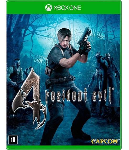 Jogo De Xbox One Resident Evil 4 Novo Lacrado