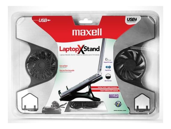 Maxell Soporte Laptop Cooler Lc-1 Twin Fan