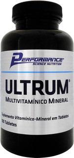 Ultrum Multivitamínico Mineral Performance Nutrition 100tabs