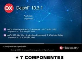Delphi Rio 10.3.1 Architect Completo + 7 Componentes