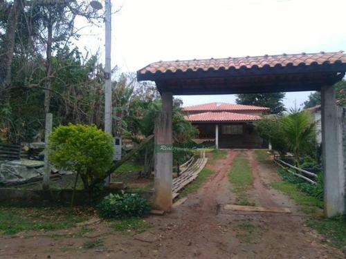 Chácara Com 3 Dormitórios, 1000 M² - Venda Por R$ 330.000,00 Ou Aluguel Por R$ 1.100,00/mês - Goiabal - Pindamonhangaba/sp - Ch0202
