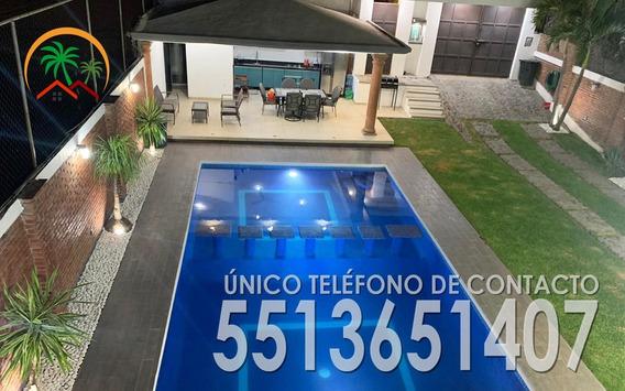 Linda Y Amplia Casa P 12 Personas Alberca Jardin3000 X Dia