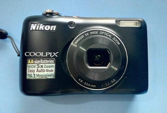 Cámara Digital Nikon Coolpix L26 De 16.1mp