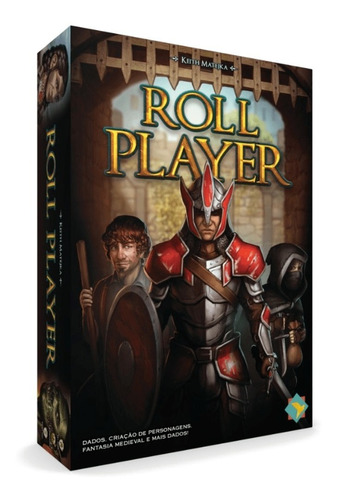 Jogo Tabuleiro Grok Games Roll Player Aventureiro Fantasia
