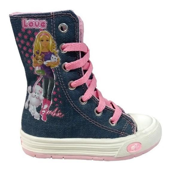Barbie Botas Para Niñas Con Cierre Talles 23 Y 24