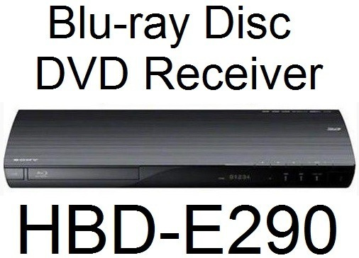 Blu-ray Disc Dvd Receiver Hbd-e290 Do Home Theater Bdv-e290