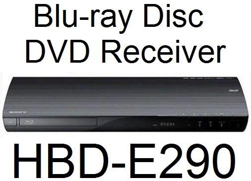 Blu-ray Disc Dvd Receiver Hbd-e290 Do Home Theater Bdv-e290