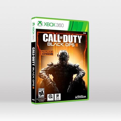 Call Of Duty Black Ops 3 - Original Para Xbox 360 - Novo