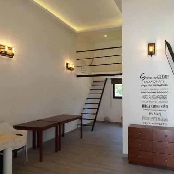 Loft Con Paneles Solares, Sin Muebles, Para Uso Residencial.