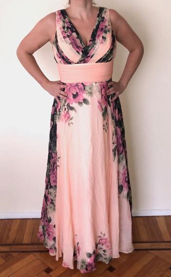 Vestido De Fiesta-largo-moderno-talle 40/m