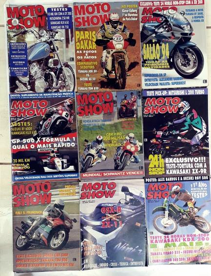 Motoshow Com 9 Revista De Moto Antigas & Raras Frete Gratis