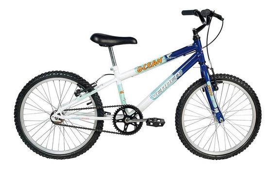 Bicicleta Aro 20 - Ocean - Azul E Branco - Verden Bikes
