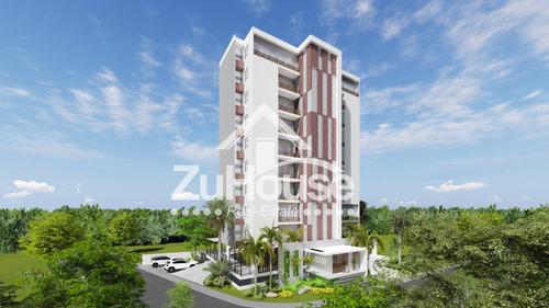 Apartamento De 1 Hab En Torre En Planos En Santiago Za17 A