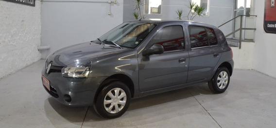 Renault Clio Mio Confort 1.2 Gris 2015 Nafta En Buen Estado!