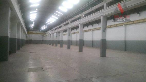 Galpão Industrial Para Locação, Vila Leopoldina, São Paulo. - Ga0206