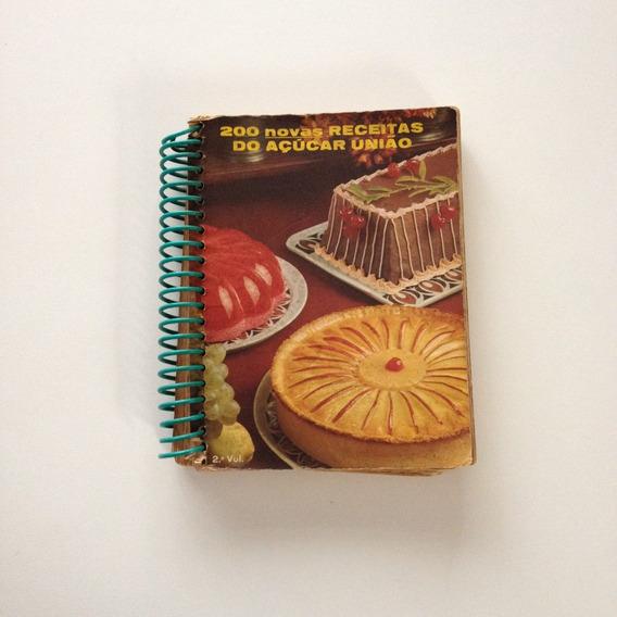 Livro De Receitas Do Açúcar União 200 Novas Receitas