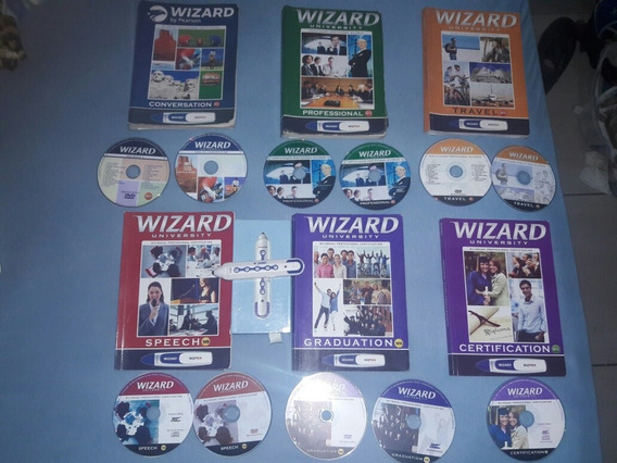 Livro Wizard W2, W4, W6, W8, W10, W12 + Wiz Pen Com Audios
