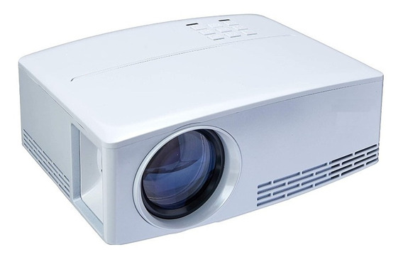 Projetor De Led 2000 Lumens Hd 1080p Com Controle 3d