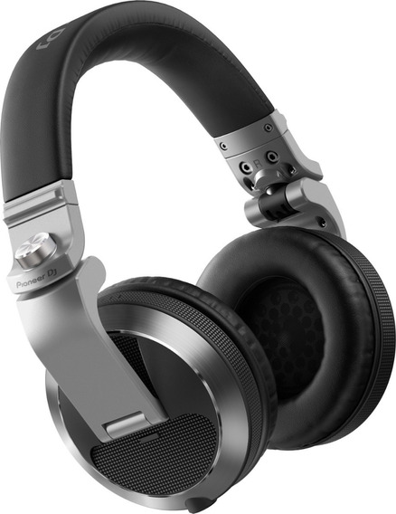 Fone De Ouvido Pioneer Dj Headphone Hdj X7 Prata Hdj-x7-s