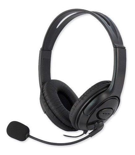 Headset Gamer Fone Para Playstation 4 Ps4 Com Microfone